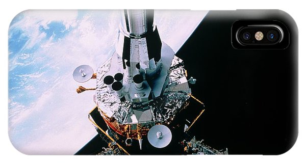 Dsp Satellite Being Deployed By Shuttle Sts-44 by Nasa/science Photo Library