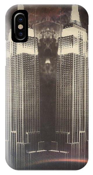 New York City iPhone Case - Duality by Natasha Marco