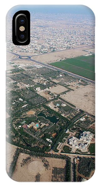 Developed iPhone Case - Dubai From The Air by Mark Williamson