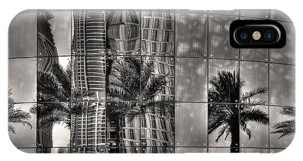 Dubai Street Reflections IPhone Case