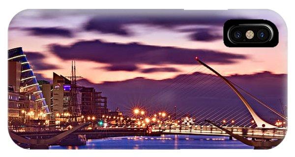 Dublin Docklands At Dawn / Dublin IPhone Case