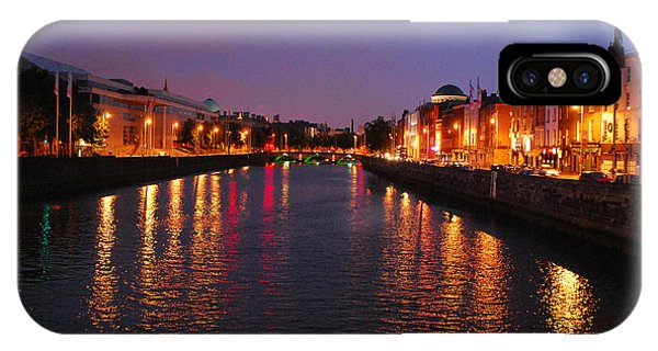 Dublin Nights IPhone Case