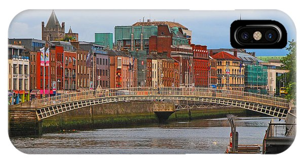 Dublin On The River Liffey IPhone Case