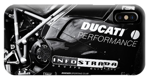 Fare iPhone Case - Ducati Performance by Tim Gainey