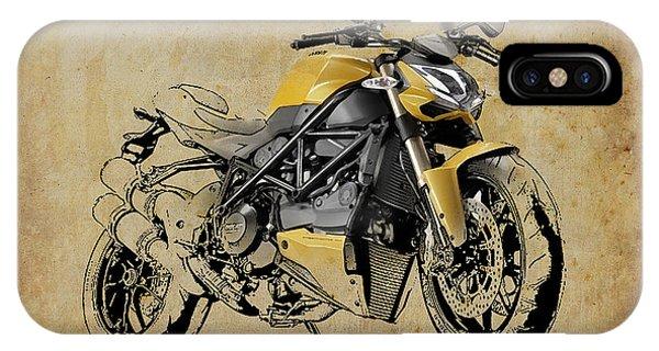 Ducati Streetfighter 848 2012 IPhone Case