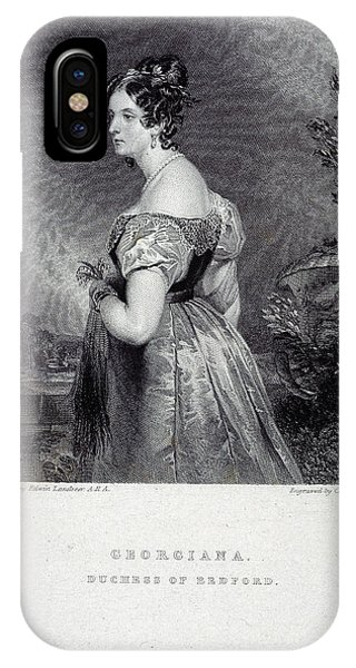 Duchess Of Bedford IPhone Case
