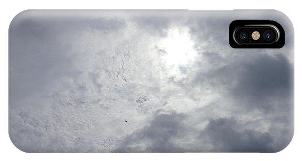 Duck In Beautiful Sky IPhone Case