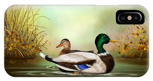 Duck Retreat IPhone Case
