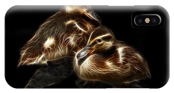 Duckling Duo - 9530 F C IPhone Case