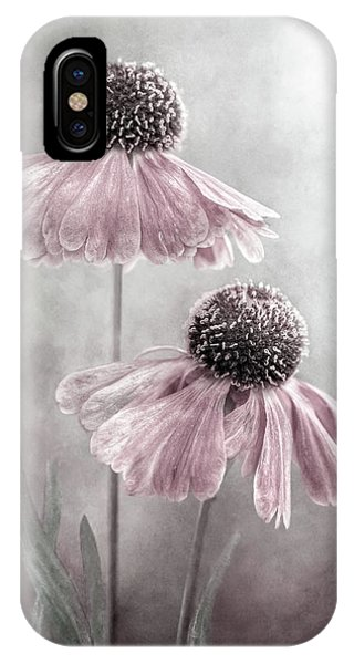 Pink Flower iPhone Case - Duet by Mandy Disher