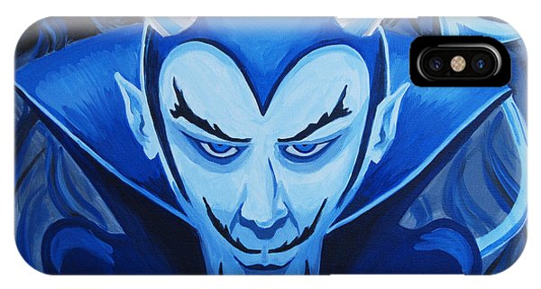 Devil Who Is Blue IPhone Case