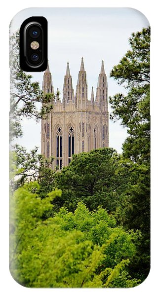 Duke Chapel IPhone Case