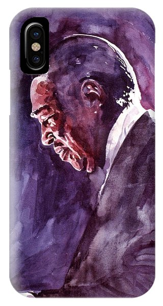Duke Ellington Mood Indigo Sounds IPhone Case