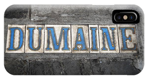 Dumaine IPhone Case