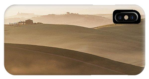 Morning Mist iPhone Case - Dune by Marco Galimberti