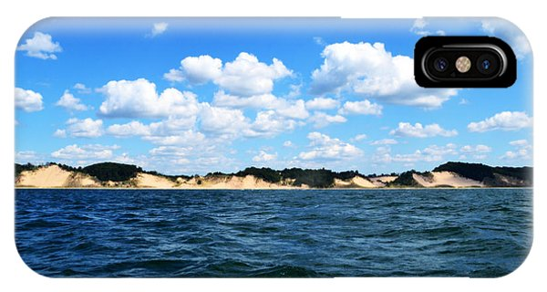 Dunes And Lake Michigan IPhone Case