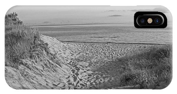 iPhone Case - Dunes Walk by Barbara McDevitt