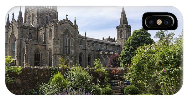 Dunfermline Abbey From The Abbot House IPhone Case
