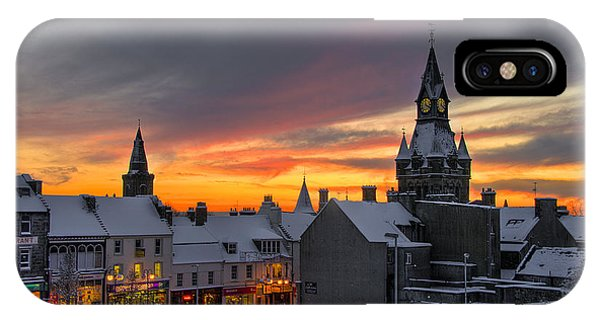 Dunfermline Winter Sunset IPhone Case