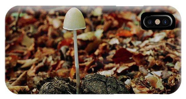 Mottled iPhone Case - Dung Mottle Gill Mushroom by Leslie J Borg/science Photo Library