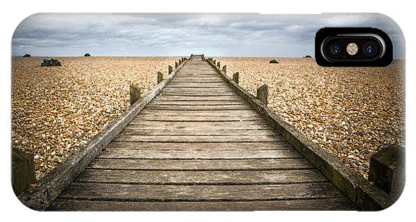 Dungeness Beach Walkway IPhone Case