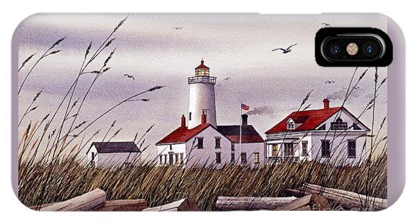 Dungeness Lighthouse IPhone Case