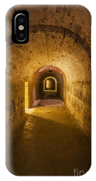IPhone Case featuring the photograph Dungeon At Castillo San Cristobal In Old San Juan Puerto Rico by Bryan Mullennix
