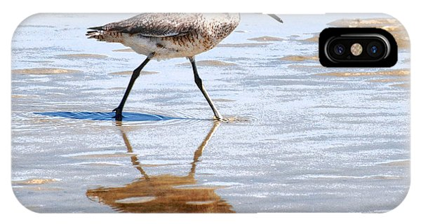 Dunlin On The Shore IPhone Case