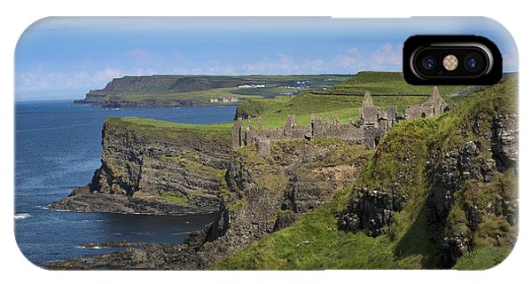 Dunluce Castle IPhone Case
