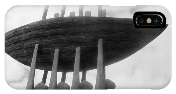 Dunmore East iPhone Case - Dunmore East Fishermen's Memorial by Patrick Dinneen