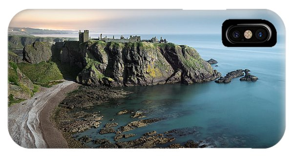 Imposing iPhone Case - Dunnottar By Moonlight by Dave Bowman