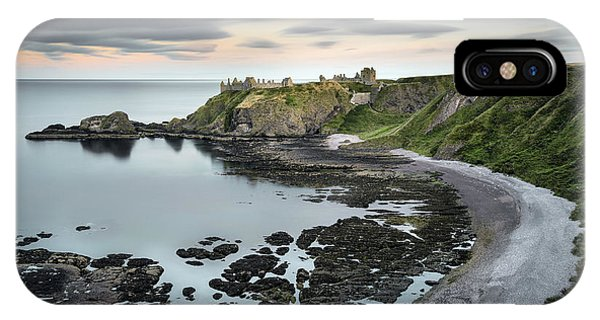 Imposing iPhone Case - Dunnottar Twilight by Dave Bowman