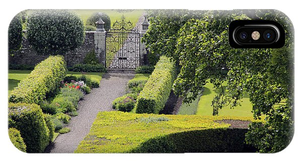 Dunrobin Garden View IPhone Case