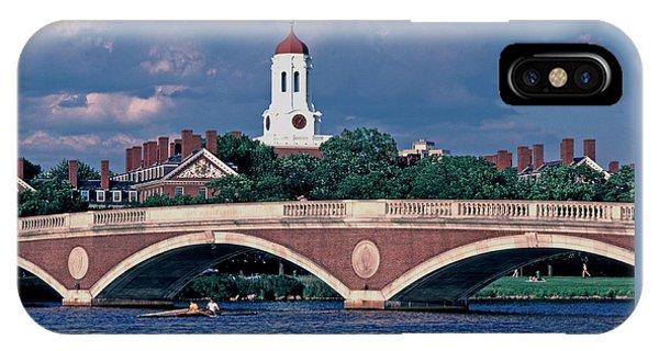 Weeks Bridge Charles River IPhone Case