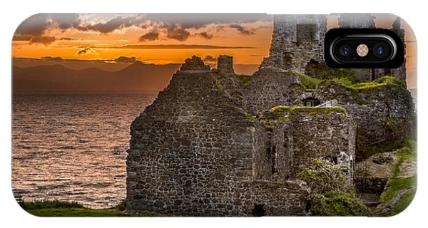 Dunure Castle Ayrshire Scotland IPhone Case