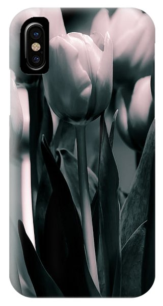 Duo-toned Tulip IPhone Case