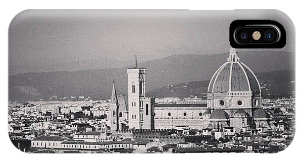 City Scape iPhone Case - #duomoflorence #florence #firenze by Mohamed Ifham