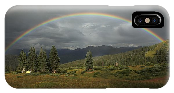 Durango Double Rainbow IPhone Case