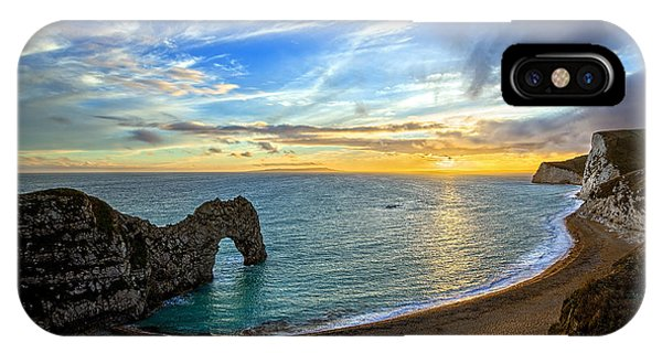 Durdle Door Sunset IPhone Case