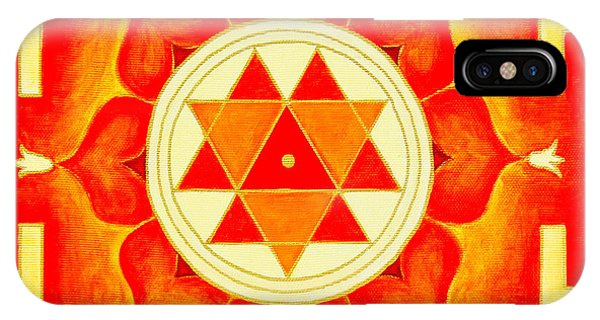 Durga Yantra Is A Powerful Yantra For Transformation Of Consciousness IPhone Case