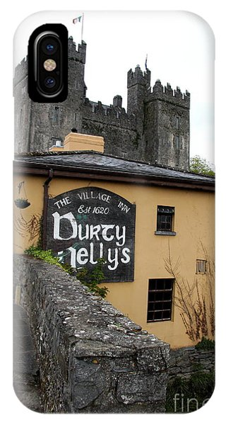 Durty Nellys And Bunraty Castle IPhone Case