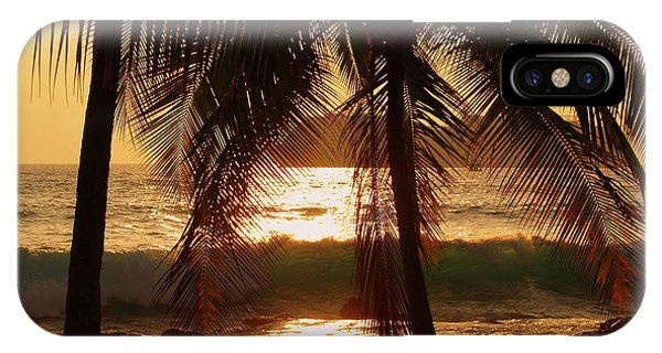 Hawaiian iPhone Case - Dusk by Athala Carole Bruckner