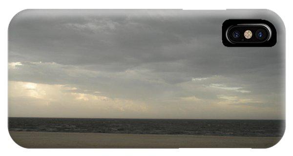 Dusk Beach Walk  IPhone Case