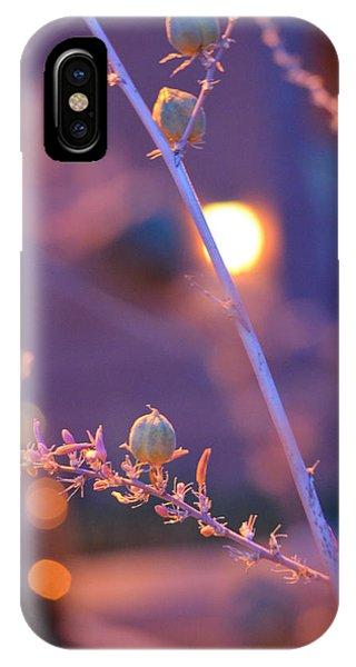 Dusk Flowers IPhone Case