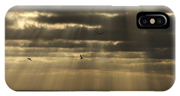 Dusk On Pacific IPhone Case