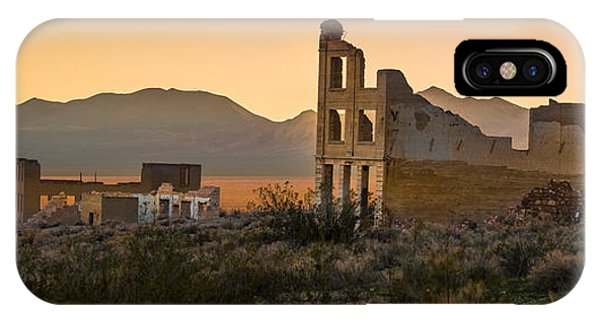 Dusk On Rhyolite IPhone Case