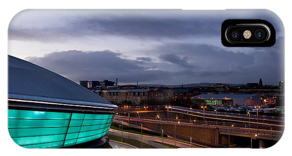 Dusk Over Glasgow IPhone Case