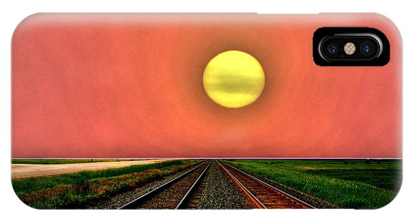 Dustbowl Sunset IPhone Case