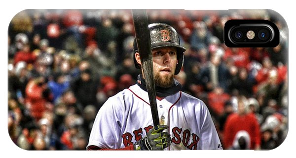 Dustin Pedroia Phone Case by SoxyGal Photography