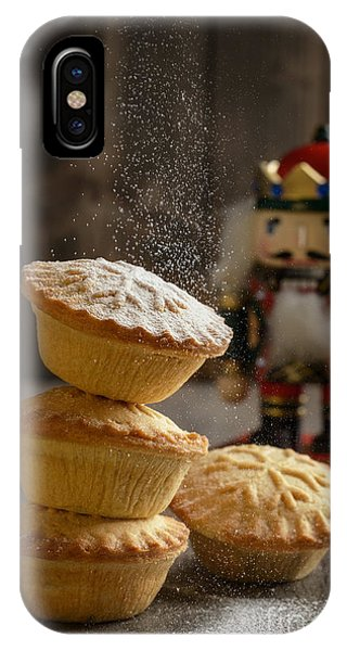 Icing iPhone Case - Dusting Mince Pies by Amanda Elwell